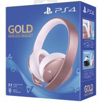 PS4 Gold Wireless Headset Rose