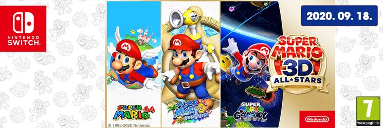 HU Super Mario 3D All-Stars