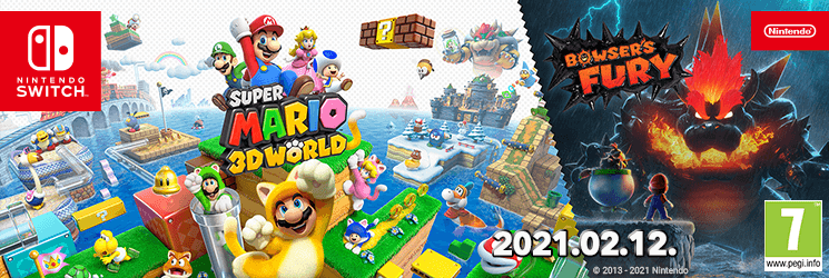 HU Super Mario 3D World + Bowser