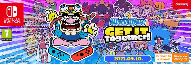 HU WarioWare: Get It Together!
